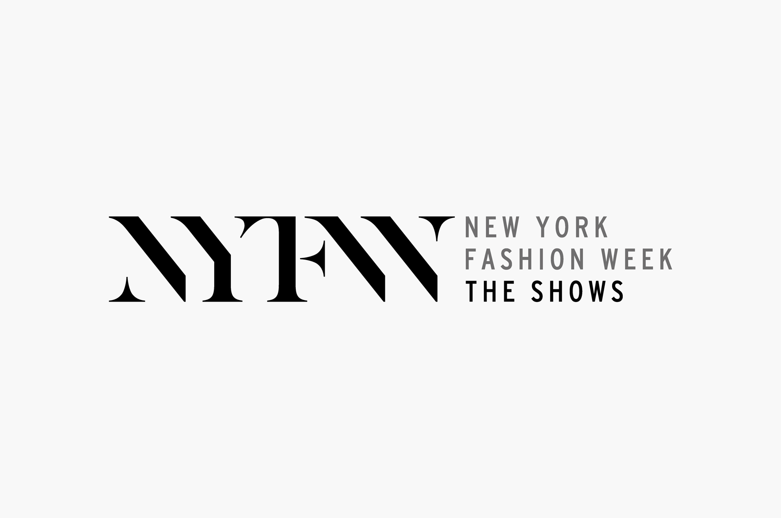 Image result for new york fashion week logo