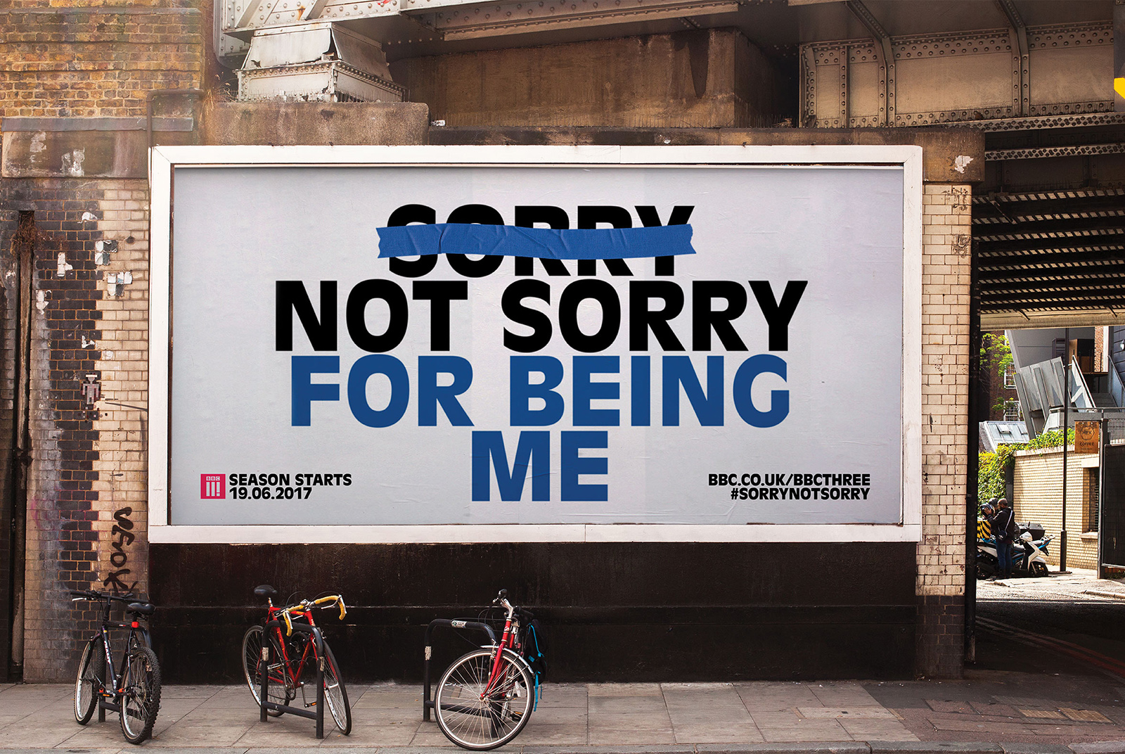 BBC Three – Sorry Not Sorry