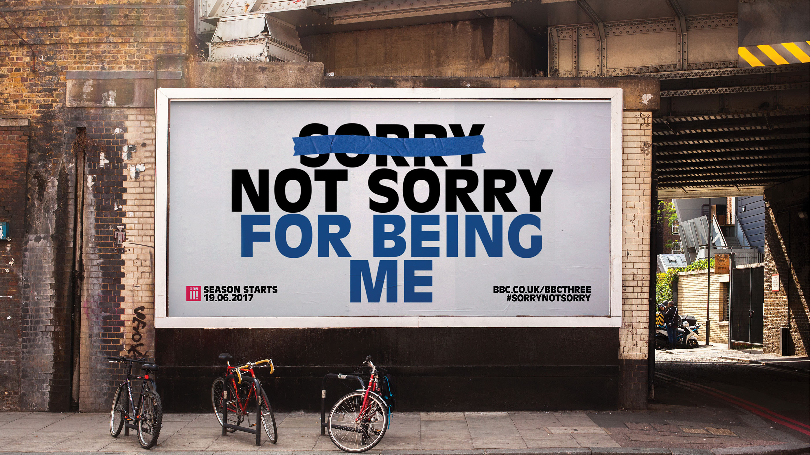 Mother Design Sorry Not Sorry poster